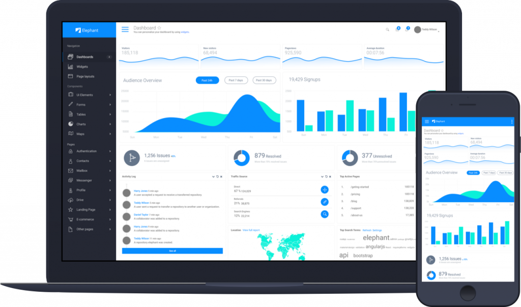 application development blu digital solutions