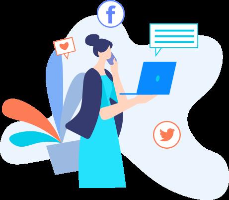 social media marketing blu digital solutions
